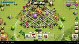 getlinkyoutube.com-Comment faire un village hybride hdv4 coc