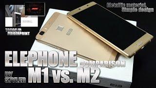 getlinkyoutube.com-Elephone M1 vs. M2 (Quick Comparison) Design & Specs - Video by s7yler