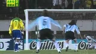 Argentina 3x1 Brasil - 2005 - Eliminatórias Copa 2006