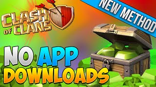 Easiest Way to Get FREE Gems - Clash of Clans International! NO APP DOWNLOADING! NEW METHOD [old]
