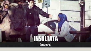 getlinkyoutube.com-Come reagiscono gli italiani se insulti una ragazza col velo