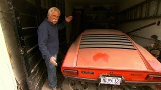 getlinkyoutube.com-Lamborghini Miura Unearthed | Chasing Classic Cars