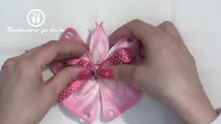 Portaconfetti Farfalla:crea le tue bomboniere www.bombonierefaidate.it