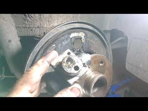 Замена тормозного цилиндра Опель