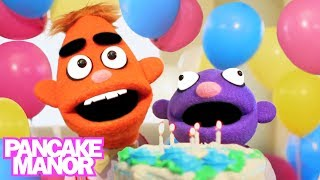 HAPPY BIRTHDAY SONG ♫ | It's Your Birthday | Kids Songs | Pancake Manor