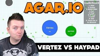 getlinkyoutube.com-VERTEZ VS HAYPAD | agar.io