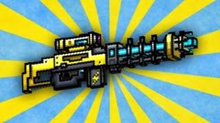 getlinkyoutube.com-Pixel Gun 3D - Electro Blast Rifle UP1 [Review]