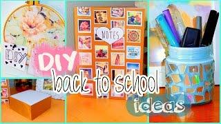 getlinkyoutube.com-DIY back to school ideas! DIY organization, Tumblr inspired supplies & more!