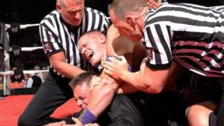 "getlinkyoutube.com-Raw: Cena crashes The Miz's attempt to rewrite ""Miz-tory"""