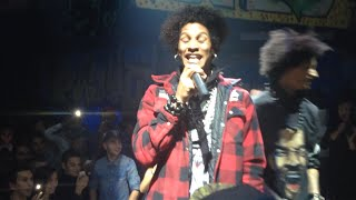 getlinkyoutube.com-Laurent being funny in Battle - Les Twins at LVL7 Club in Vienna