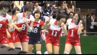 getlinkyoutube.com-春高バレー 下北沢成徳 東京 vs 熊本信愛女 女子準決勝 2013.1.12