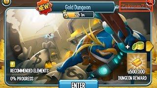 getlinkyoutube.com-Monster Legends, Chill Bill gold dungeon