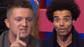 getlinkyoutube.com-EDL leader Tommy Robinson takes on rapper Akala