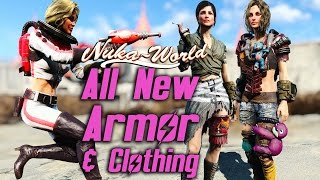 getlinkyoutube.com-Fallout 4 Nuka-World DLC - All New Armor & Clothing Showcase