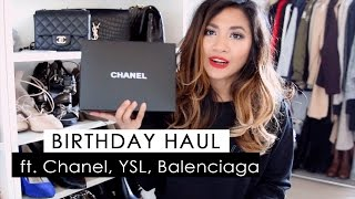 getlinkyoutube.com-What I got for my birthday ft. Chanel, Saint Laurent, Balenciaga