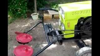getlinkyoutube.com-МиниТрактор DW120 Доработка трактора