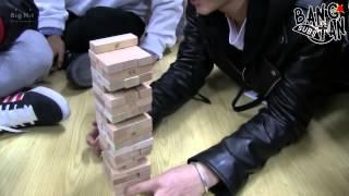 getlinkyoutube.com-[ENG] 150306 BOMB: BTS Jenga championship thanks to Twitter