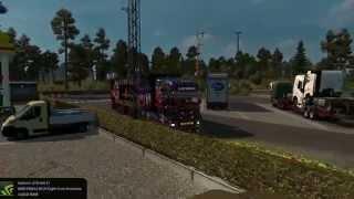 getlinkyoutube.com-Ets2 Black Warrior zum truckertreffen Autohof Soltau Hoyer
