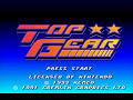 Super Nintendo - Top Gear - Track 3