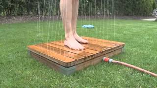 getlinkyoutube.com-Die einzigartige Gartendusche