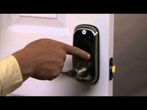 Yale Real Living Touchscreen Lever Lock Programming - User PIN Code Registration 02