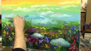 getlinkyoutube.com-Научиться писать маслом, масляная живопись для начинающих взрослых
