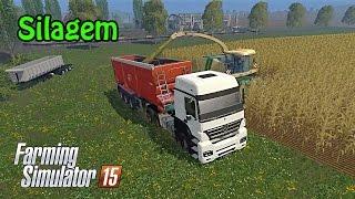 getlinkyoutube.com-Farming Simulator 15 - Fazendo Silagem