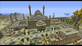 getlinkyoutube.com-Minecraft Timelapse, episode 4 : Djamila, cité orientale