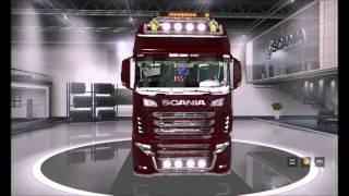 [ETS2]Euro Truck Simulator 2 Scania R700 v2