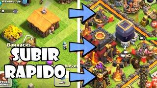 getlinkyoutube.com-Clash of Clans: COMO SUBIR DE NIVEL RAPIDO! Trucos y consejos de Clash of Clans en español