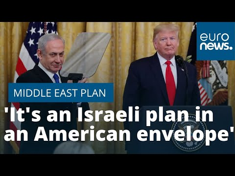 France 24:Palestinian MP on Trump's Middle East peace plan: 'It's an Israeli plan in an American envelope'
