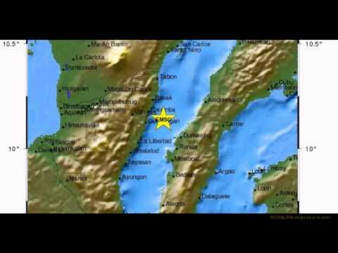 M 6.8 EARTHQUAKE - NEGROS - CEBU REGION, PHILIPPINES 02/
