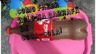 getlinkyoutube.com-COMO FAZER: BOLO TIPO BOMBOM NA  GARRAFA DE COCA- COLA!!