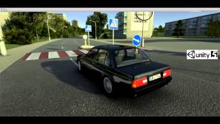 Unity 5 Car. Vilnius Racing //Lazdynai