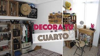 getlinkyoutube.com-Decora una habitación pequeña usando huacales :D | #ViernesconKarla