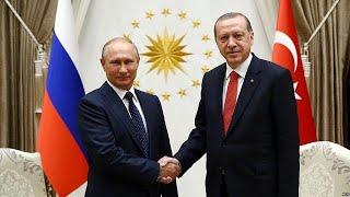 Putin y Erdogan reactivan el eje ruso-turco en Ankara