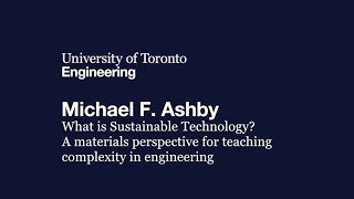 getlinkyoutube.com-MSE 100th Anniversary Lecture Michael Ashby: What is Sustainable Technology?