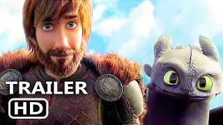 HOW TO TRAIN YOUR DRAGON 3 Official Trailer (2018) Animation Movie