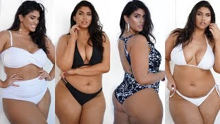 PLUS SIZE SWIMSUIT TRY ON HAUL| SWIMSUITS FOR ALL| LA'TECIA THOMAS