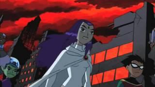 Raven vs Trigon-Batalla Final (ingles) Teen Titans