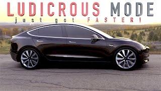 Tesla Model 3 Supercharger FEES   NEW Ludicrous PLUS mode?!?!