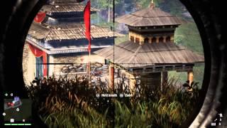 getlinkyoutube.com-Far Cry 4 - Varshakot Fortress - Undetected Sniper/100% Headshots (Hard)