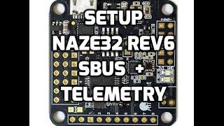 getlinkyoutube.com-Setup | Naze32 sbus + telemetry