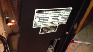 getlinkyoutube.com-Koerting GmbH EXCELLO Klangfilm amplifiers 1930's Telefunken RV239 Triode in push-pull with EMT 927