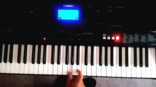 , teclado Yamaha psr e453 cómo será la mujer tutorial