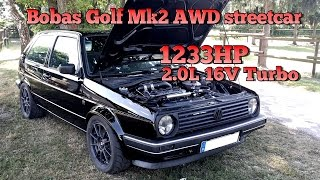getlinkyoutube.com-Brutal Golf Mk2 1233HP 16V Turbo Brutal Acceleration FULL VIDEO 2015