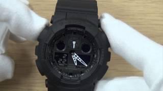getlinkyoutube.com-How To Set A G-Shock Watch