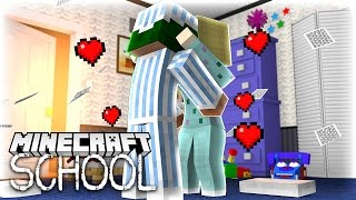 getlinkyoutube.com-Minecraft School - LITTLE LIZARD FINALLY KISSES HIS CRUSH!?