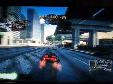 Burnout Paradise City - Stunt run 23,9m x89