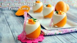 getlinkyoutube.com-How to Make Mango Panna Cotta